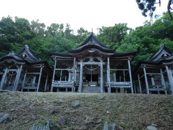 スサノオ秘剣の旅「秋田赤神神社(五社堂)」(かすかに鬼の波動が残る神社)