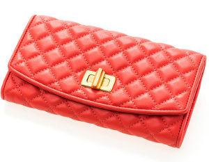 赤い長財布